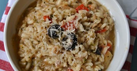 Risotto con at n cocinar es ponerse for Como cocinar risotto