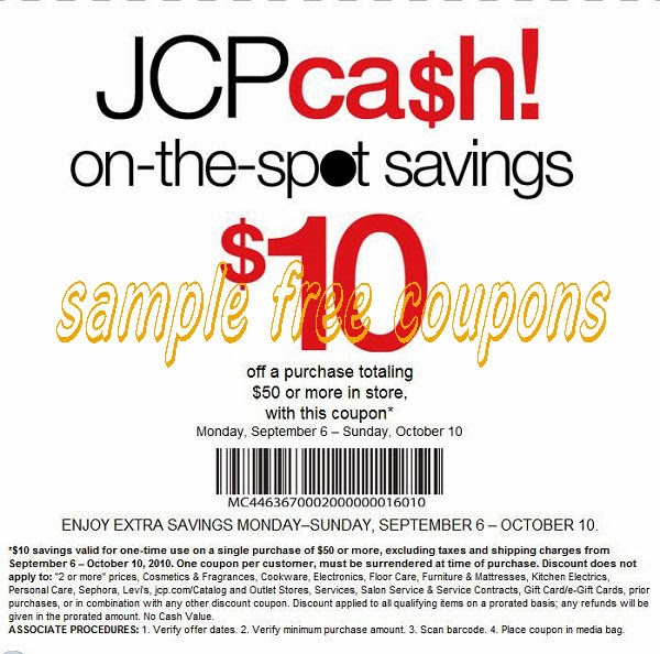 Jcpenney printable coupons labor day