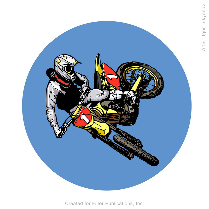 Images vectorielles de moto cross - Moto cross dessin ...
