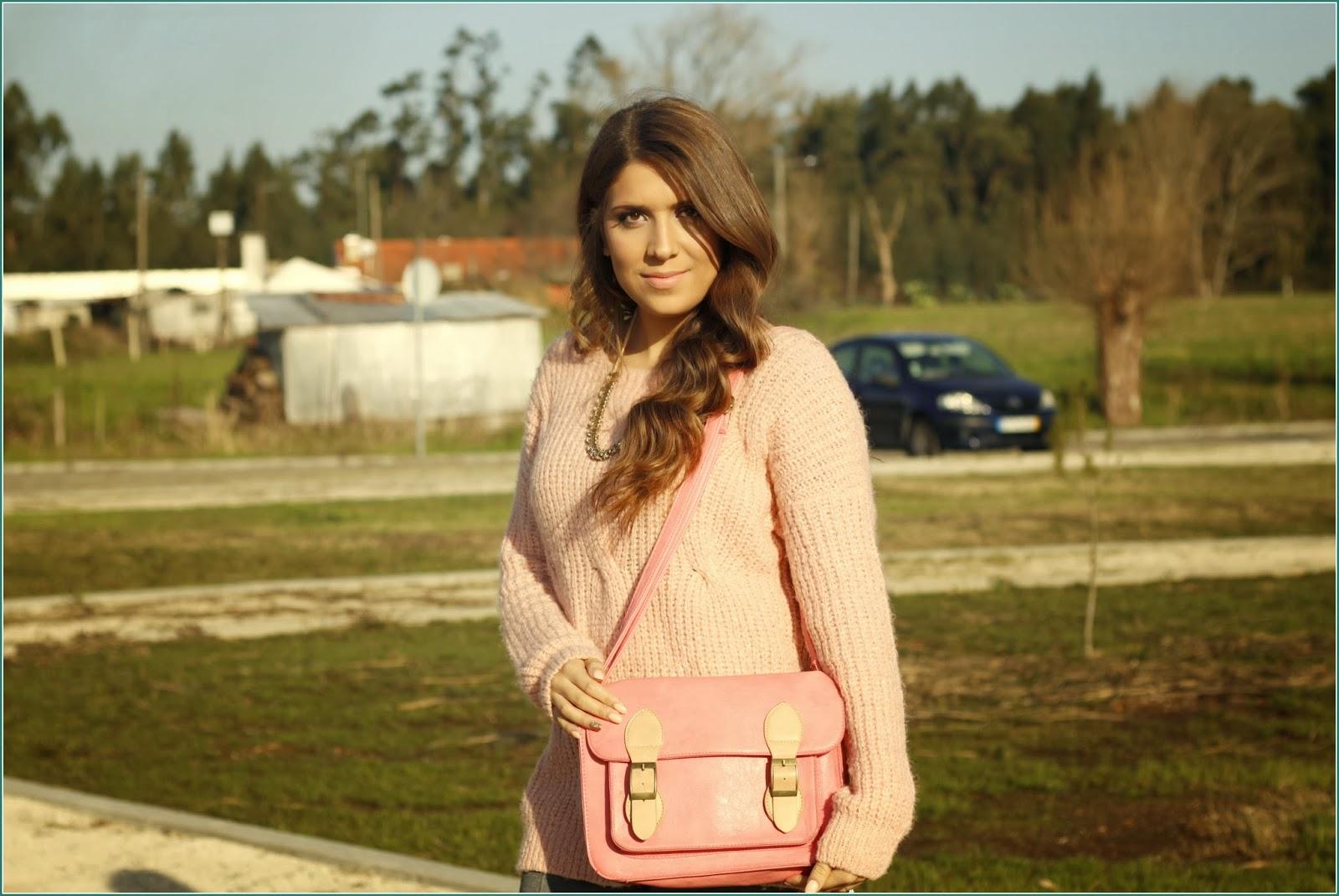 perfect pink bag