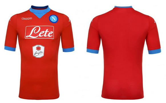 Camiseta Napoli futbol