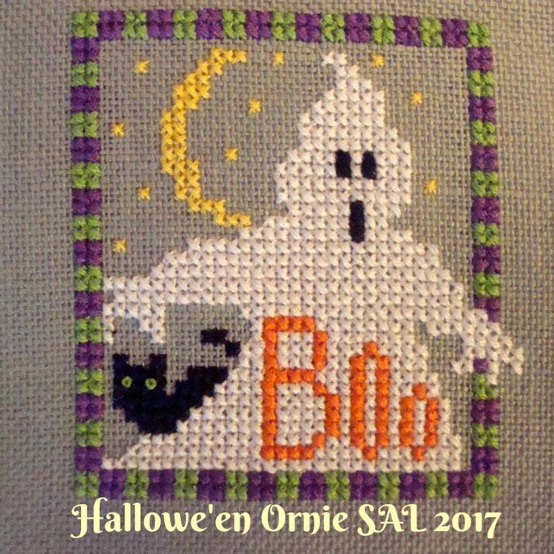 Halloween Ornie SAL 2017