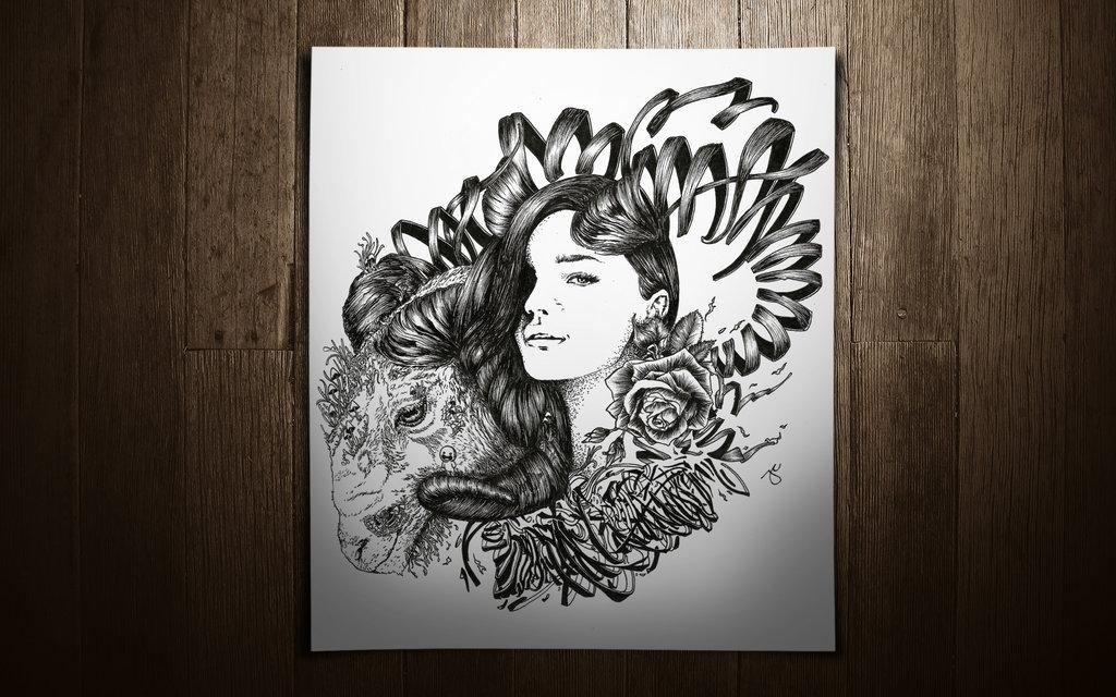 26-Year-of-the-Ram-Joseph-Catimbang-Pentasticarts-Metaphysical-and-Surreal-Doodle-Drawings-www-designstack-co