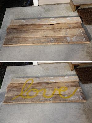 Jou jou diy cabecero con tablones de madera - Cabecero tablas madera ...