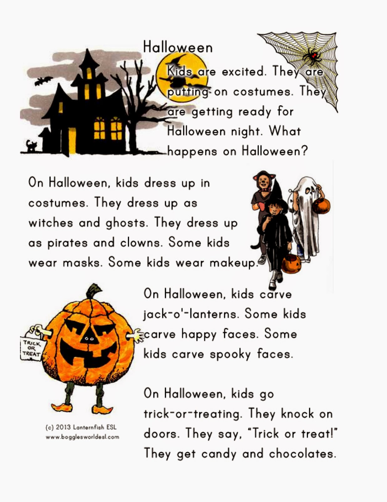 Language To Go! : Halloween games