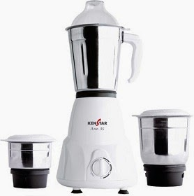 Flat 46% Off on Kenstar AXE-3S 500 Watt Mixer Grinder just for Rs.1599 Only with Free Home Delivery @ Flipkart (Price Valid for Today Only)