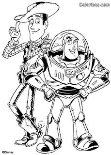 Desenhos do Toy Story para pintar