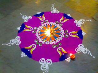 Diwali Rangoli Designs 2013