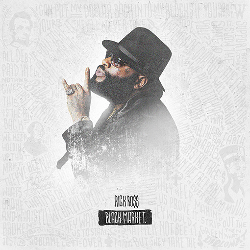 RICK ROSS - BLACK MARKET (ARTWORK)
