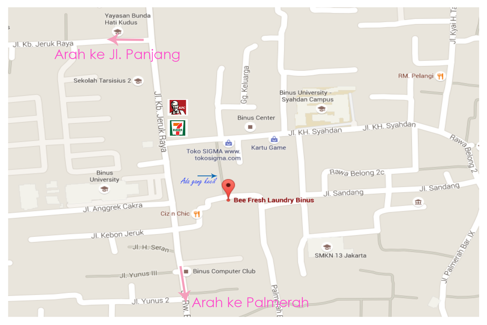 now you can find us more easy with google maps