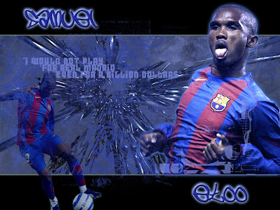 Samuel Etoo barcelona wallpapers ~ Football wallpapers, pictures ...