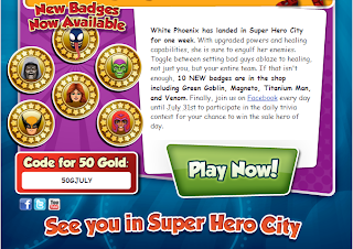 is heroup com july code super hero squad online shso 50 gold code