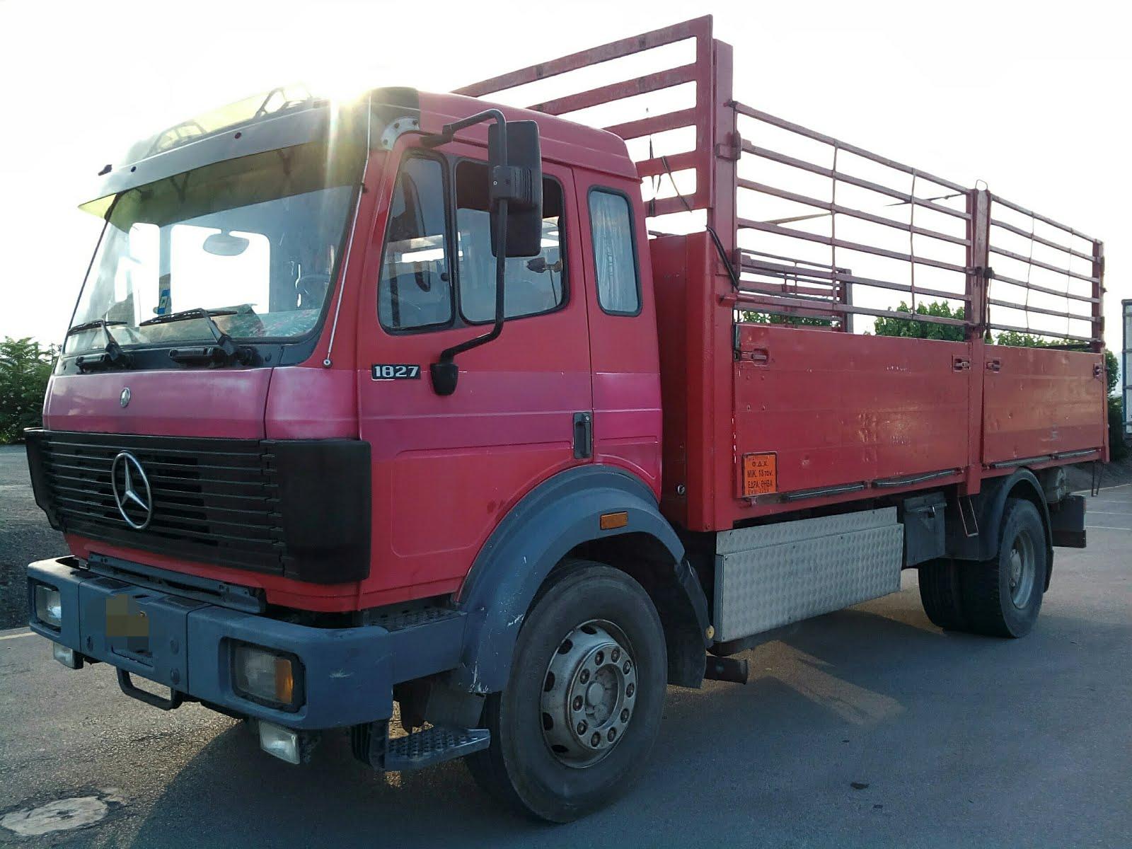Αγγελία πώλησης άδειας και φορτηγού