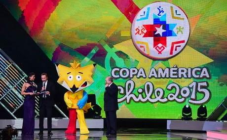 Inilah Undian Babak Penyisihan Copa Amerika 2015