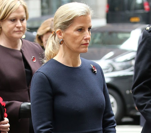 The Countess of Wessex visits The National September 11th Memorial Museum