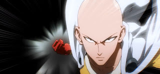 Saitama (One Punch Man) Anime Jepang Rambut Botak