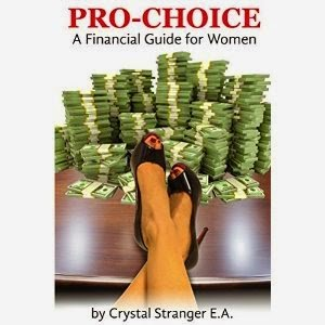 financial guide for women, pro-choice book, crystal stranger, pro-choice financial guide