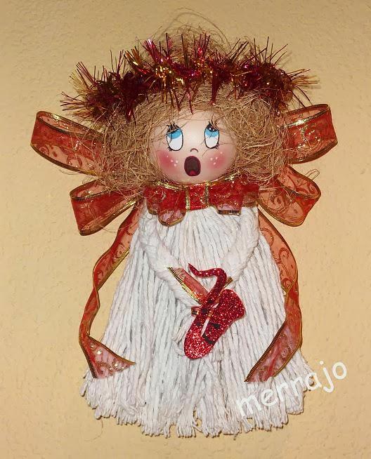 Manualidades merrajo yoli angeles de navidad - Angeles de navidad manualidades ...