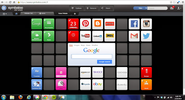 My Personal Symbaloo