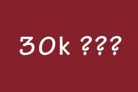 Bạn sẽ làm gì với 30k?