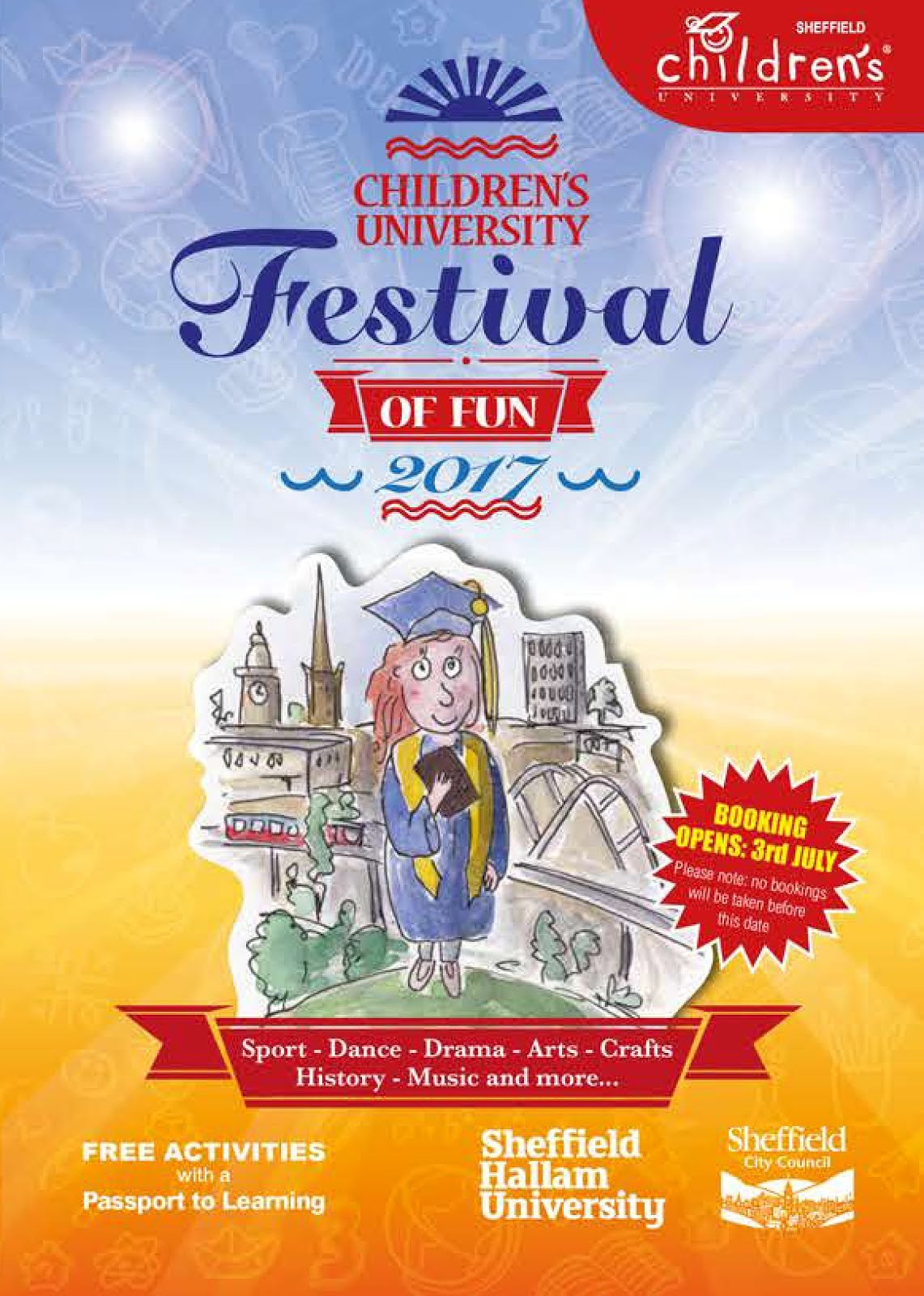 Festival of Fun Activity Leaflet