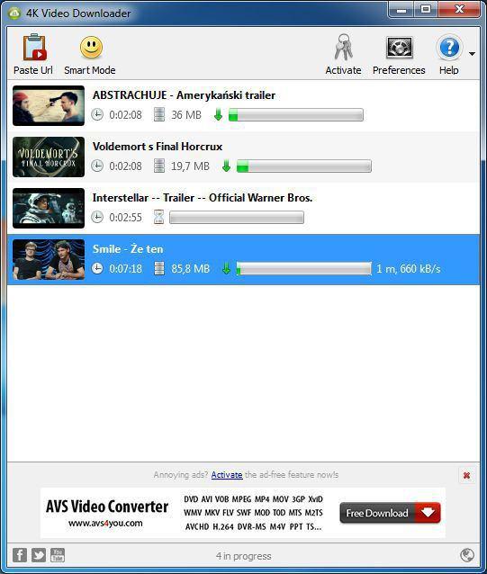 Como solucionar el error no se puede descargar en 4k video