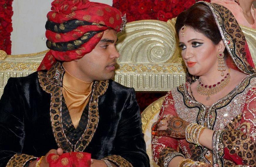Umar Akmal Wedding Pic...