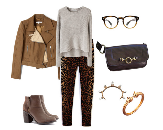 Look of The Day: Fiercely Feline with Hipsters for Sisters Espresso Cataluna Belt Bag