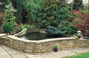 Como hacer un estanque en el jardin aprender hacer for Estanque de concreto
