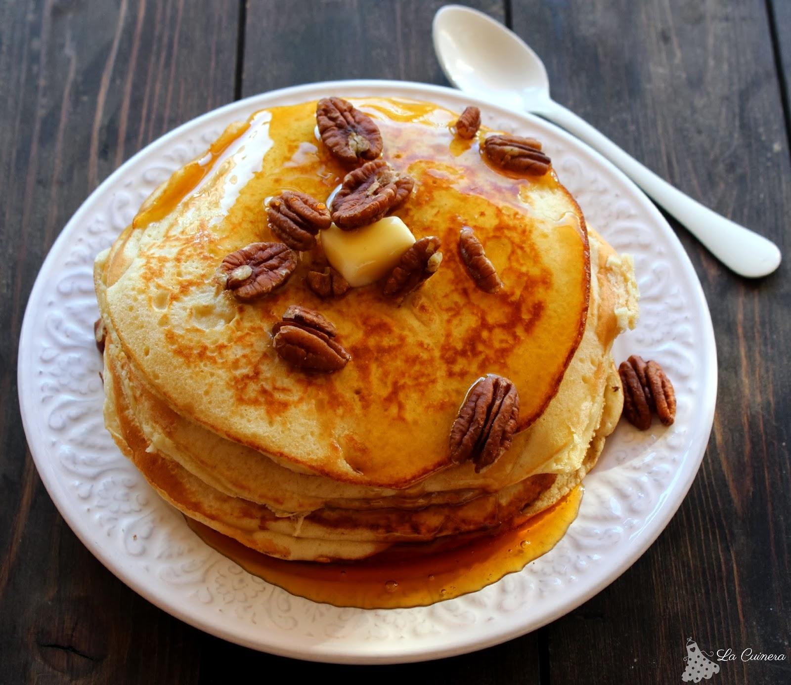 como hacer pancakes o tortitas americanas en casa