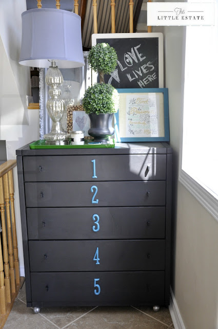 http://thislittleestate.blogspot.ca/2013/04/numbered-dresser-redo-loved-addition-to.html