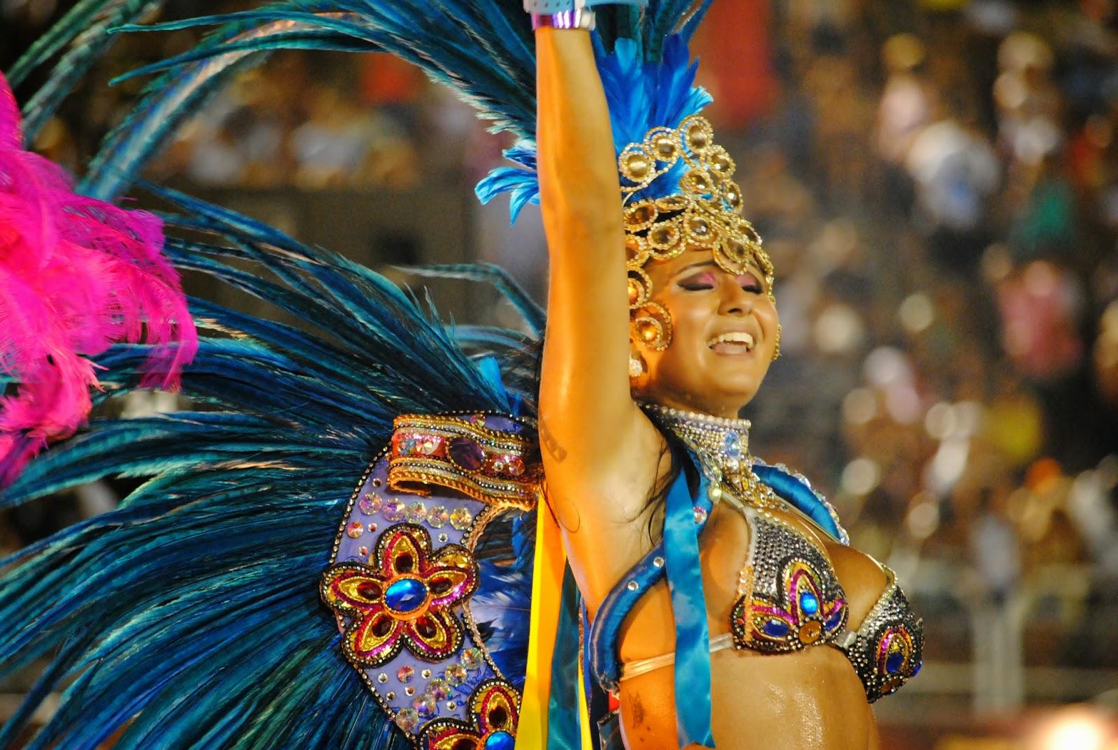 Sambadrom 2012 in Rio-de-Janeiro, Brazil