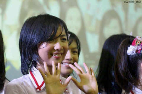 Ghaida JKT48 at HelloFest8