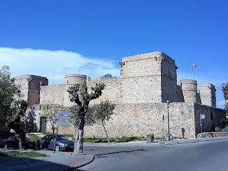 Celebración de primera comunión en el castillo de Santiago