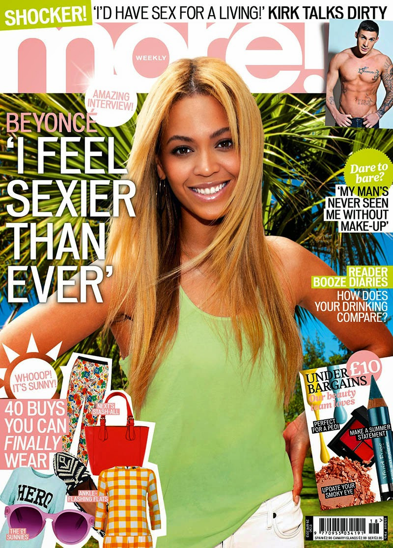 Beyonce More Magazine Cover April 2014 HQ Scans