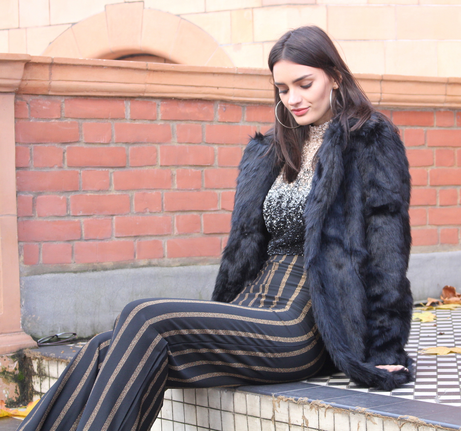 peexo fashion blogger wearing sequins for nye