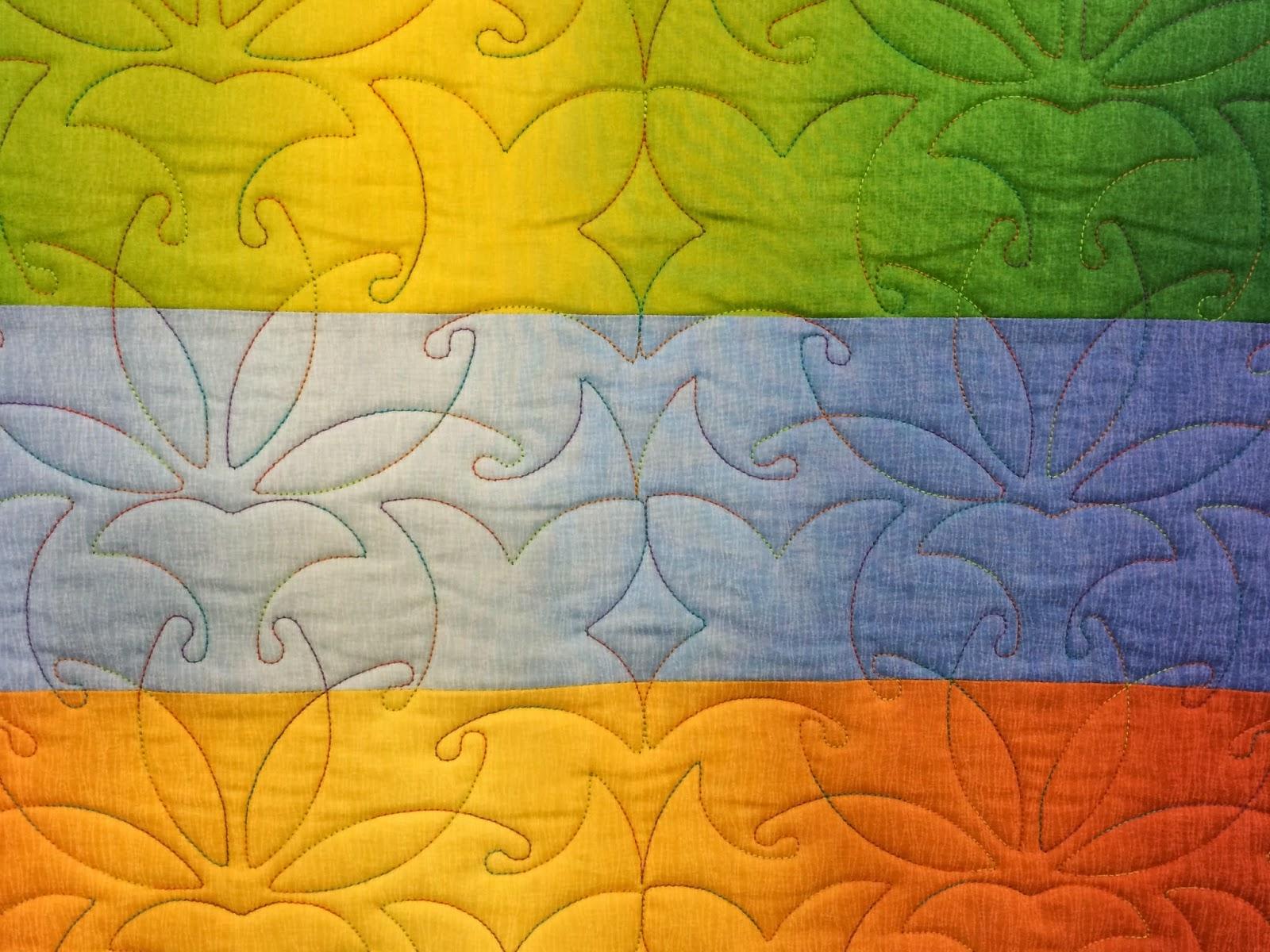 Faith Sams Multi-Color Quilt