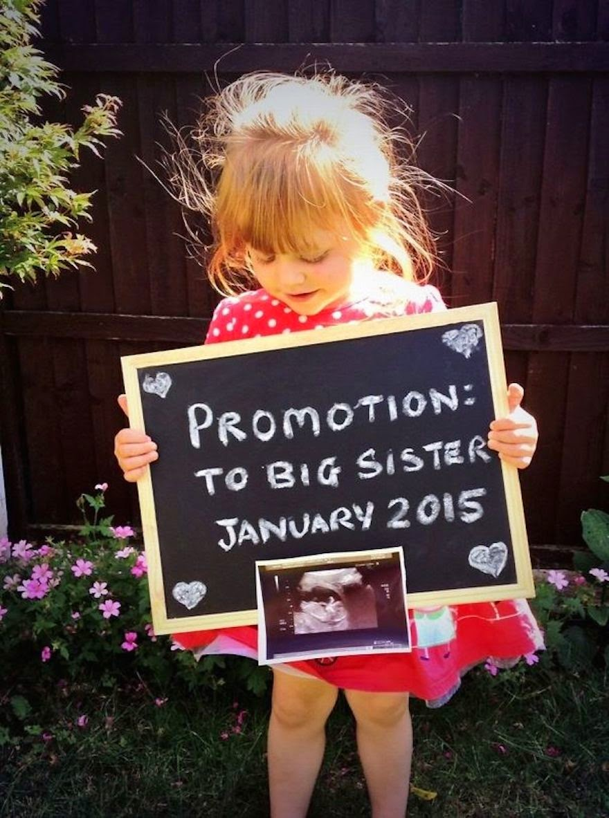 30 Of The Most Creative Baby Announcements Ever - How To Announce A Job Promotion And A Baby