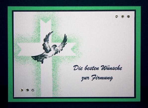 stempel-exempel: zur firmung, Einladung