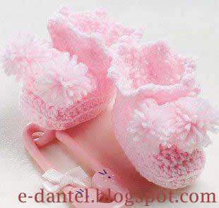 Pembe Bebek Patik Modeli