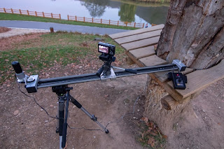 Dolly Slider with Time Lapse Motor