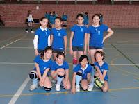 equipo voleibol alevín Constantina 2011