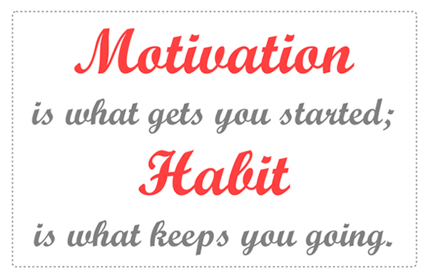 Motivation vs Habit