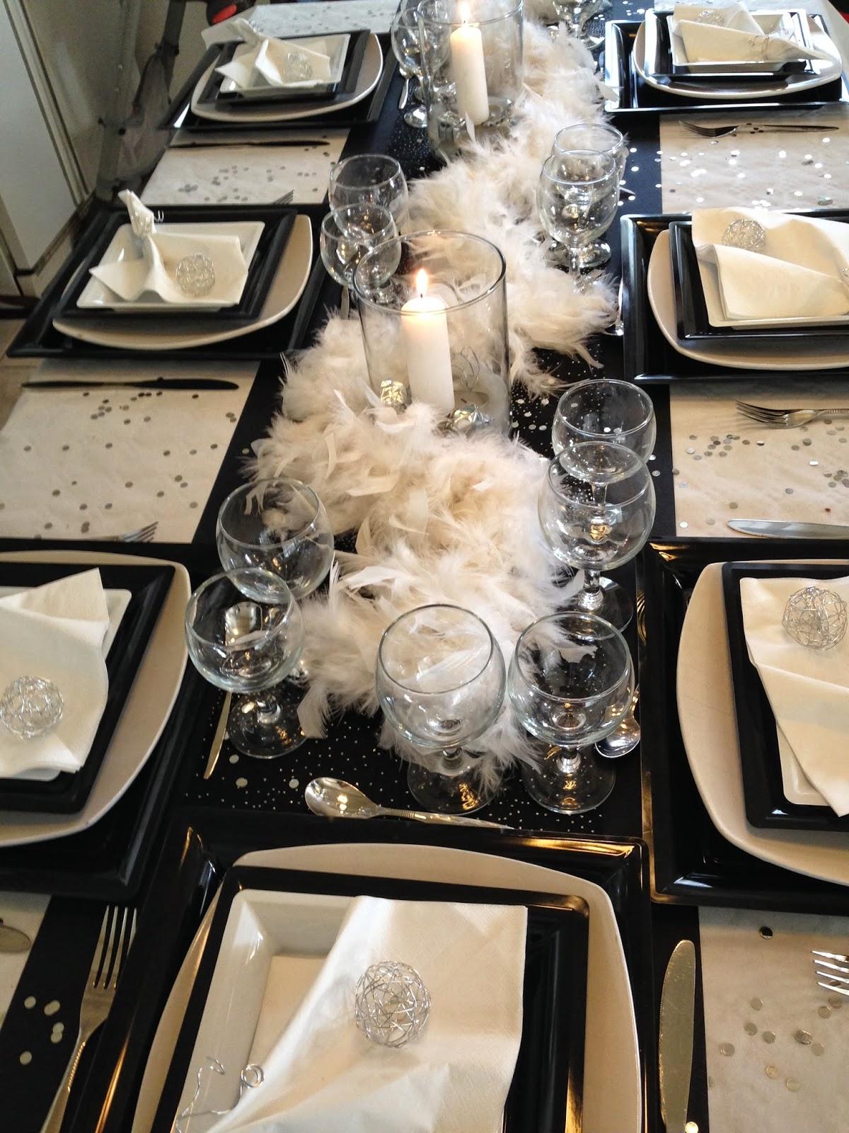 """décoration de table originale pour les fêtes de fin d""""année"""