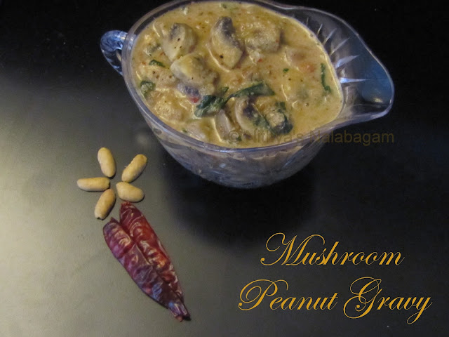 Spicy Mushroom Peanut Gravy