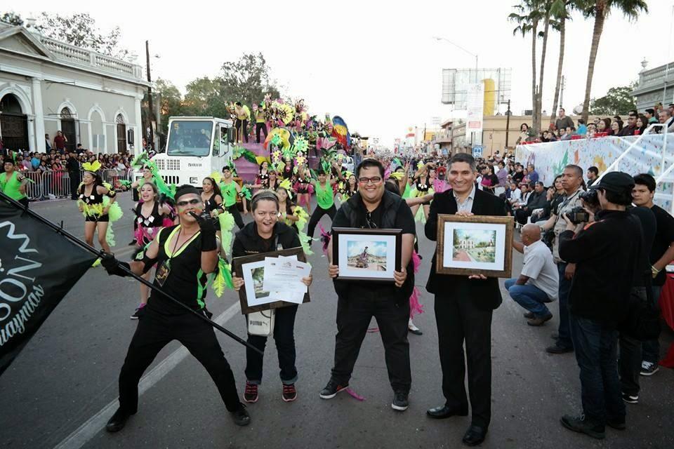 ITSON, ganadora del Primer Lugar de las Comparsas del Carnaval 2015