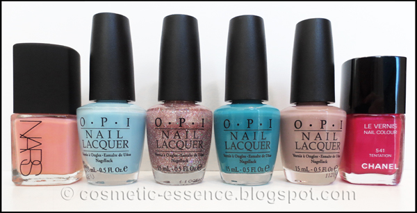 NARS, OPI & Chanel nail polish 1