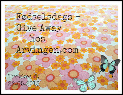 Give Away hos fine Arvingen!
