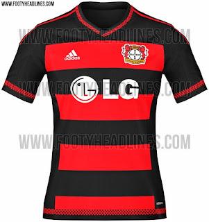 jual online baju bola terbaru Jersey Bayer leverkusen home terbaru musim depan 2015/2016