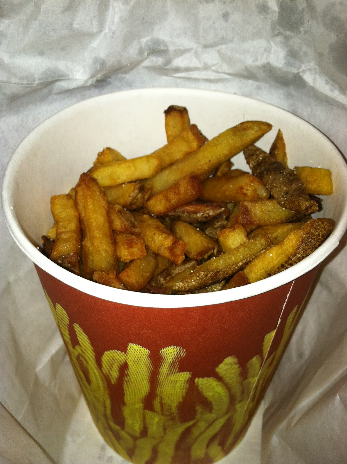 ... : French Fry Diary 310: Boardwalk Grill & Pizzeria, Cherry Hill NJ